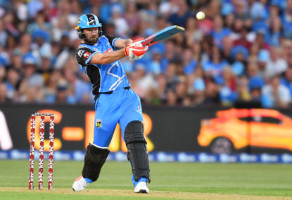 BBL Big Bash live scores, blog: Adelaide Strikers vs Melbourne Stars
