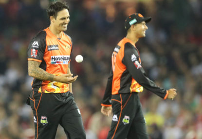 The Scorchers set alight the WACA one last time