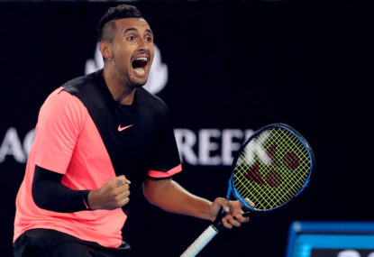 Kyrgios keeping it low-key in New York