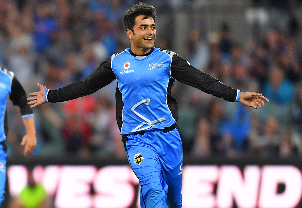 Rashid Khan of the Adelaide Strikers