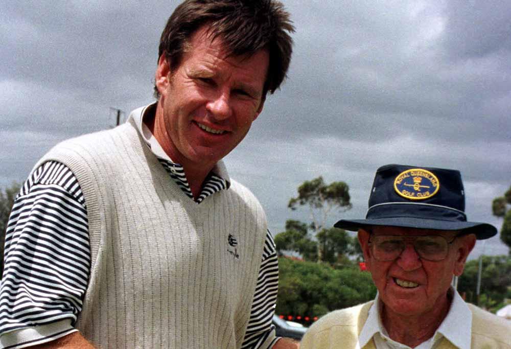Aussie golfing legend Norman Von Nida