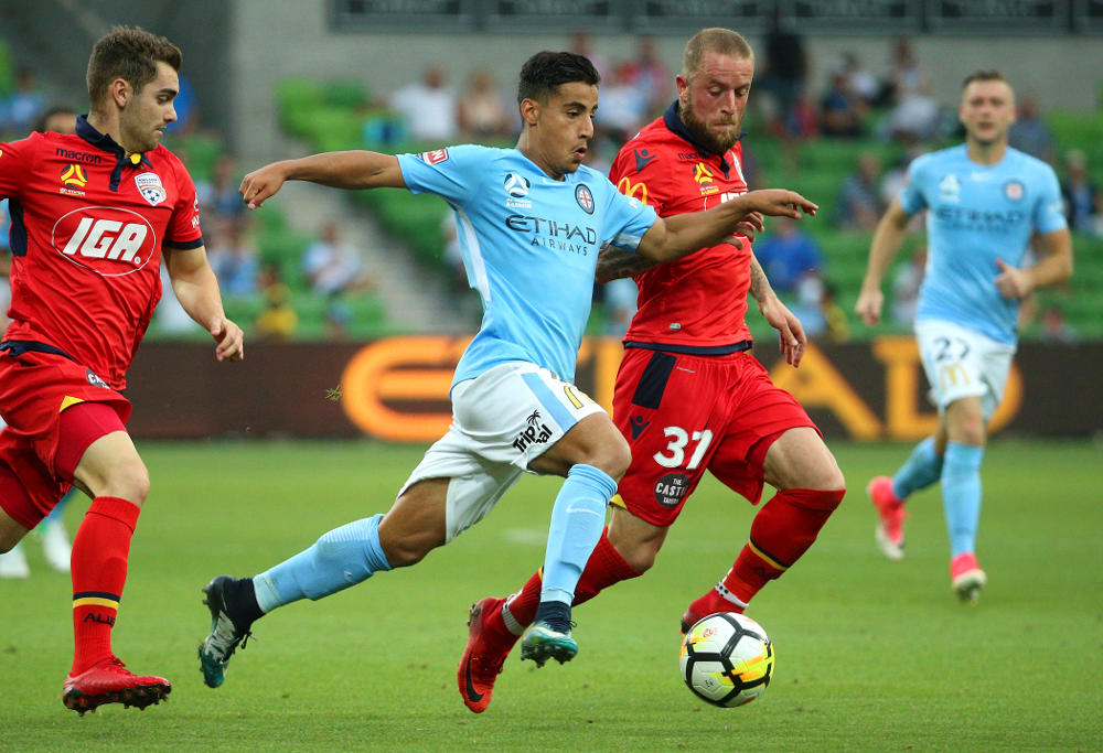 Melbourne City wonderkid Daniel Arzani