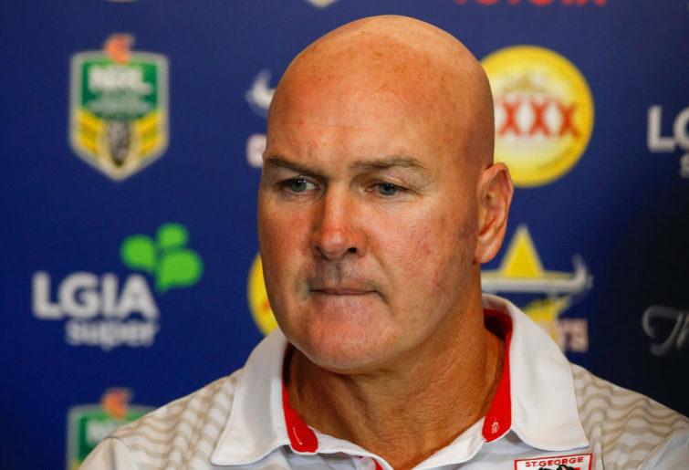 Dragons coach Paul McGregor
