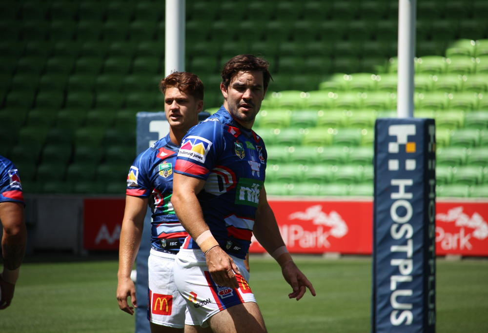 Aiden Guerra Newcastle Knights trial