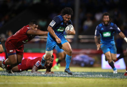 Blues beat Waratahs at Brookvale