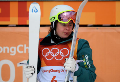 Aussies narrowly miss out on medals in the moguls