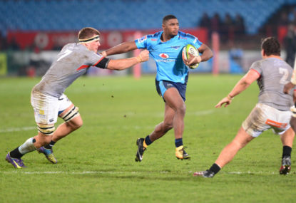 Bulls dominate Sharks behind Gelant's hat-trick