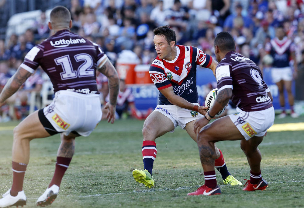 Cooper Cronk Roosters trial