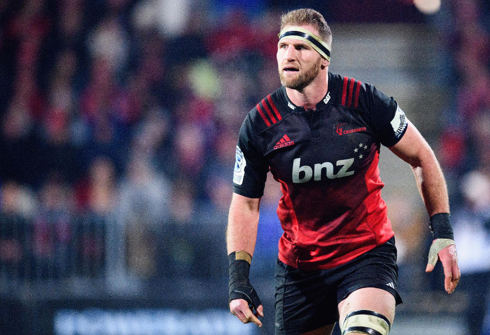 CHRISTCHURCH, NEW ZEALAND - JULY 29: Kieran Read of the Crusaders looks on during the Super Rugby Semi Final match between the Crusaders and the Chiefs at AMI Stadium on July 29, 2017 in Christchurch, New Zealand.