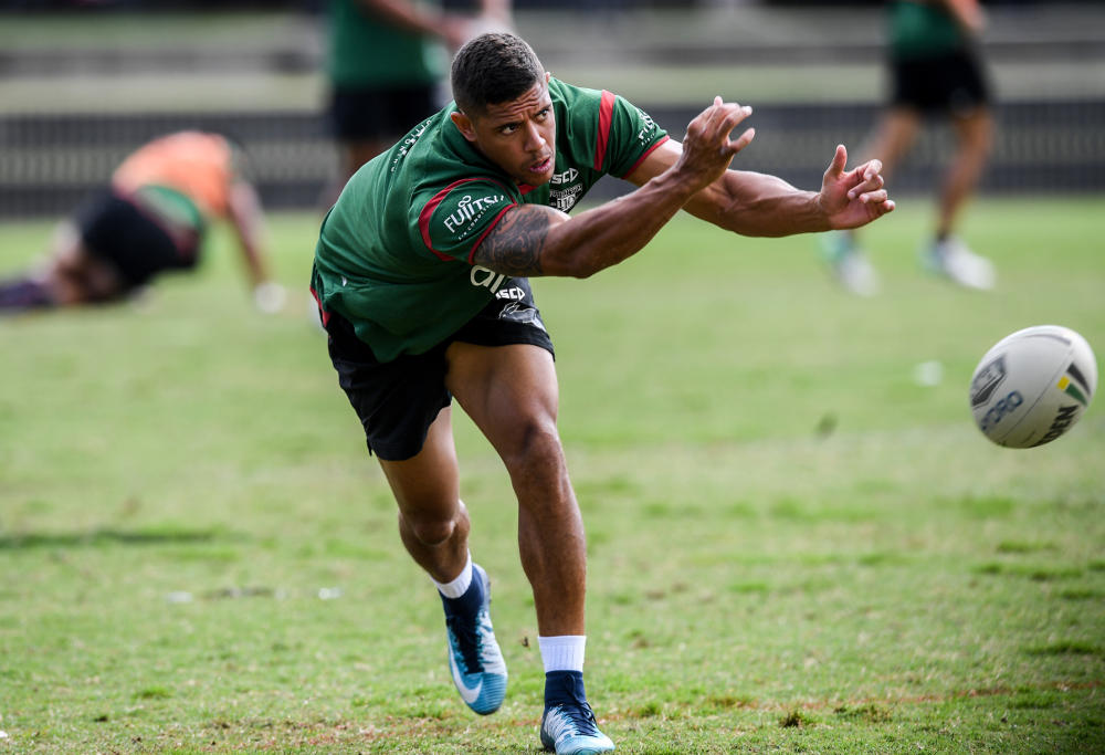 Dane Gagai at Rabbitohs training