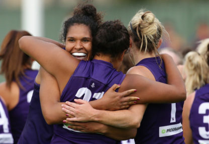 Dockers stage come back to beat Demons in AFLW