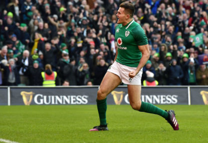 Irish give New Zealand a bitter pill to swallow