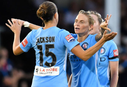 City achieve the threepeat, defeating Sydney 2-0 in W-League grand final