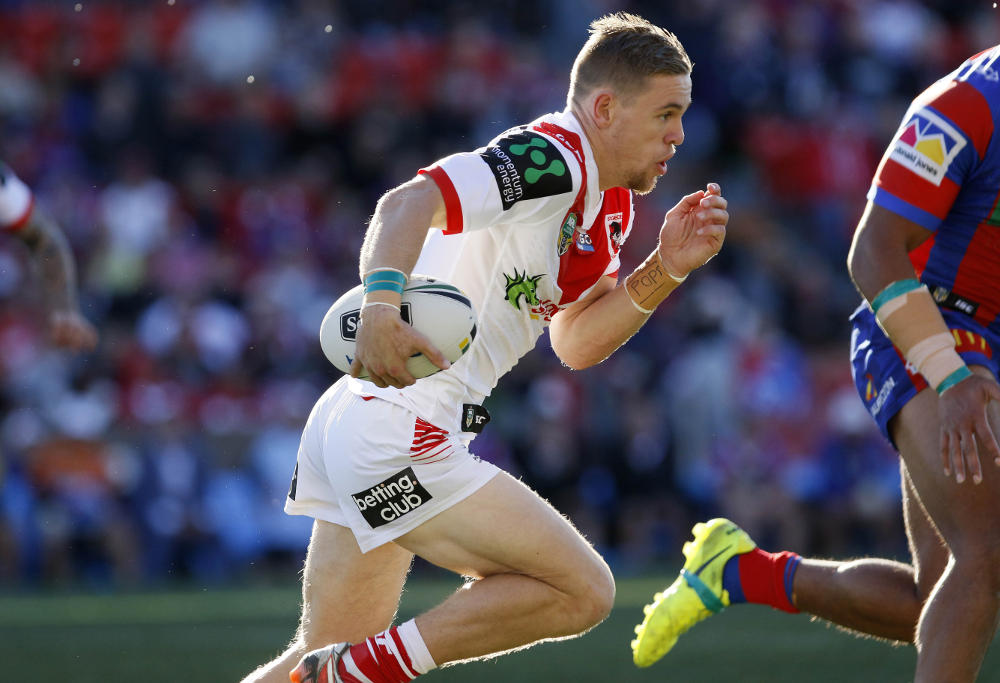 Matt Dufty Dragons fullback