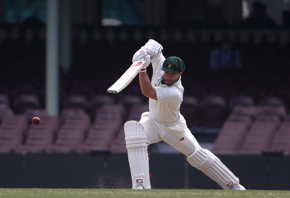 Matthew Wade century for Tasmania