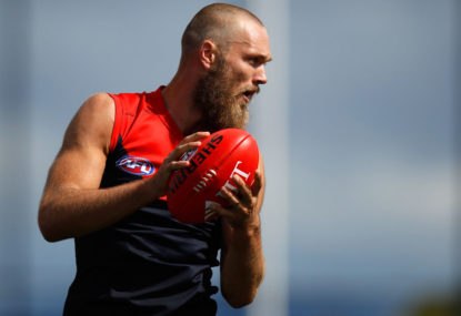 Dees skipper pumps up Max Gawn's Brownlow chances