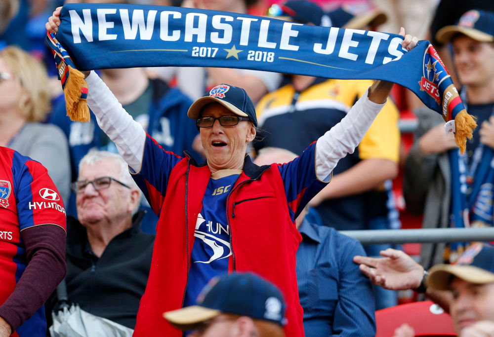 Newcastle Jets fans