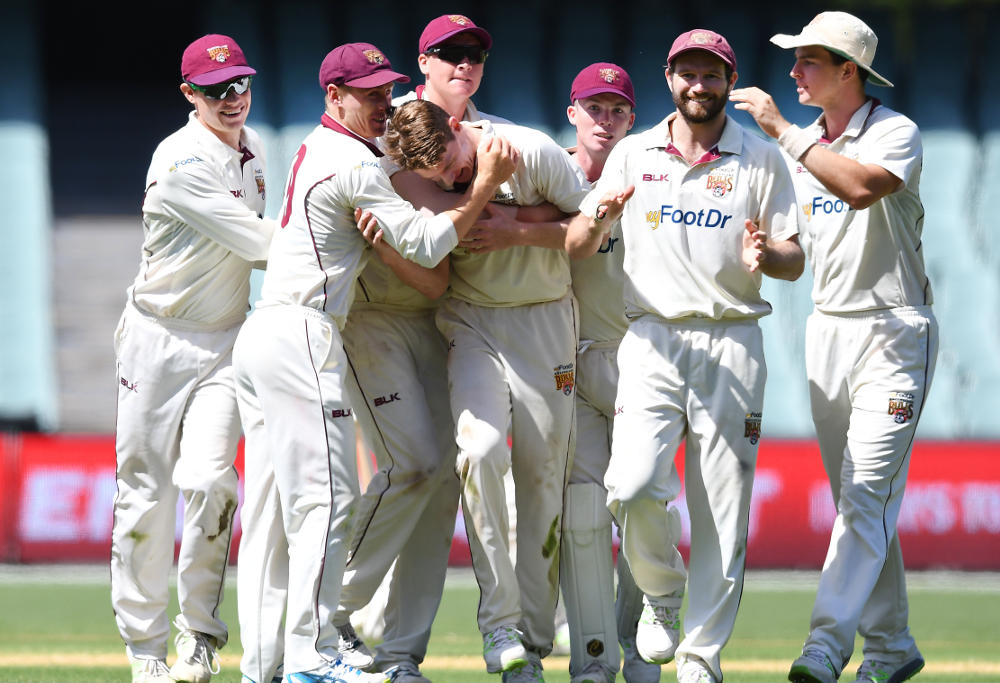 Queensland Bulls beat South Australia Adelaide Oval