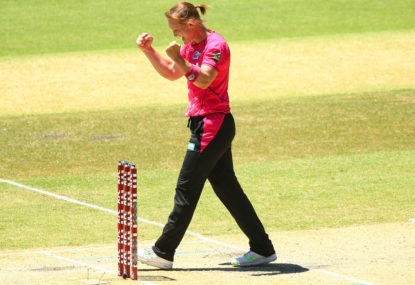 Sixers thrash Scorchers to win WBBL final