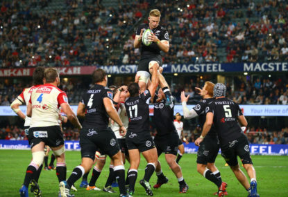 Sharks vs Lions: Super Rugby live scores
