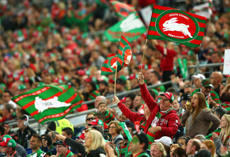 South Sydney Rabbitohs fans