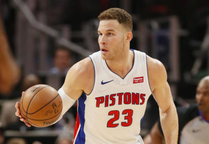 Arm in arm, Blake Griffin and the Pistons march inevitably towards despair