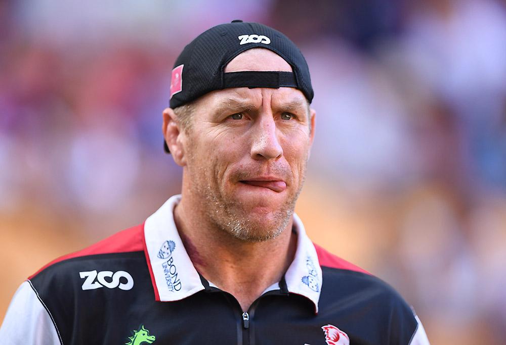 Reds coach Brad Thorn
