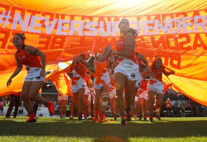 GWS Giants vs North Melbourne Kangaroos: AFLW live scores, blog