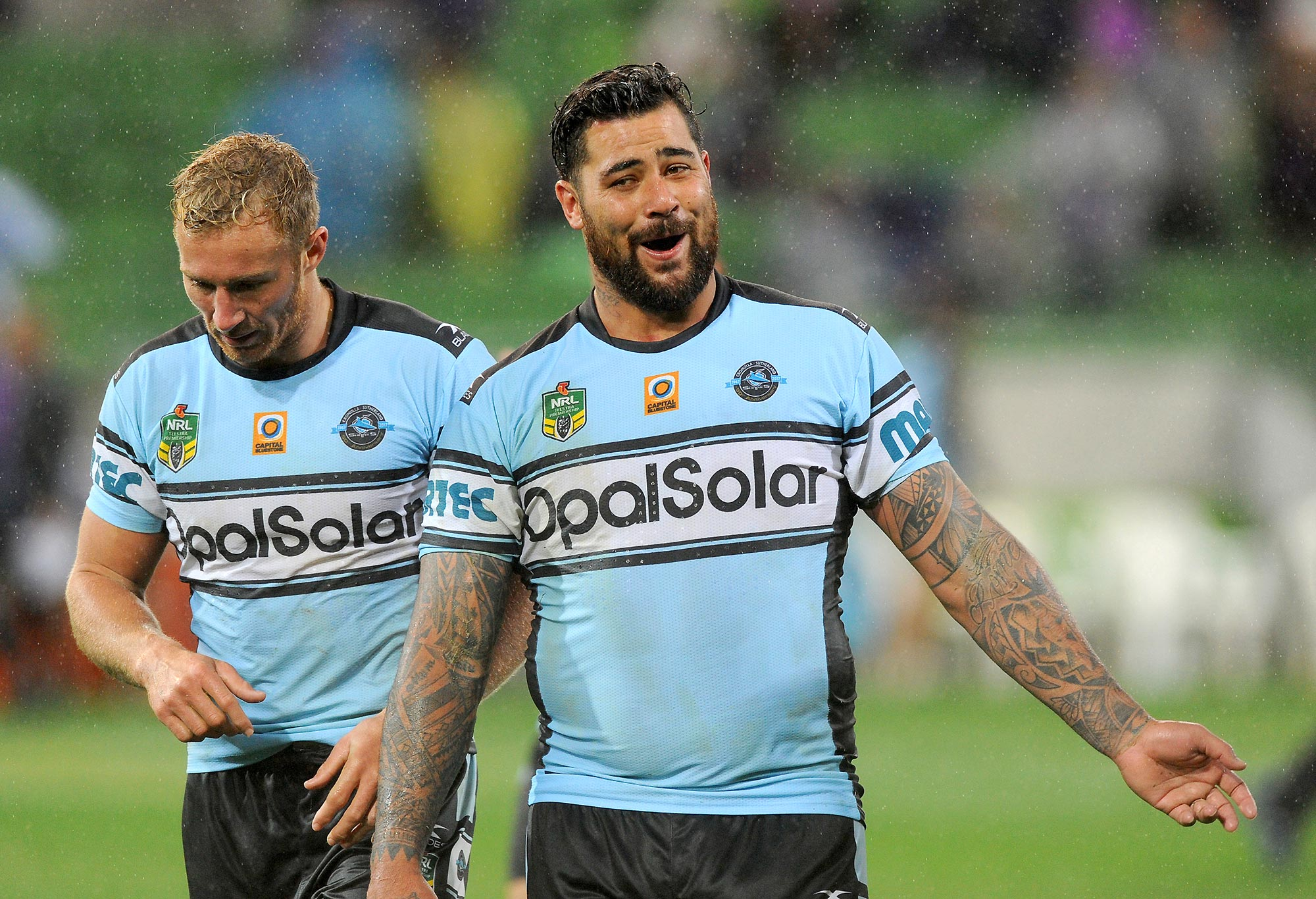Andrew Fifita of the Sharks