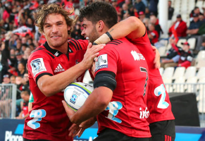 Crusaders vs Highlanders: Super Rugby live scores, blog
