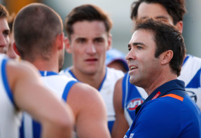 Brad Scott bows out: Roos coach to forego final year of contract