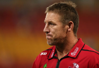 Brad Thorn's emotional response to Izack Rodda's departure