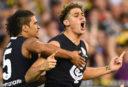 Carlton Blues vs West Coast Eagles: AFL live scores, blog, highlights