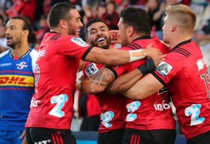Crusaders beat Blues in Super Rugby derby