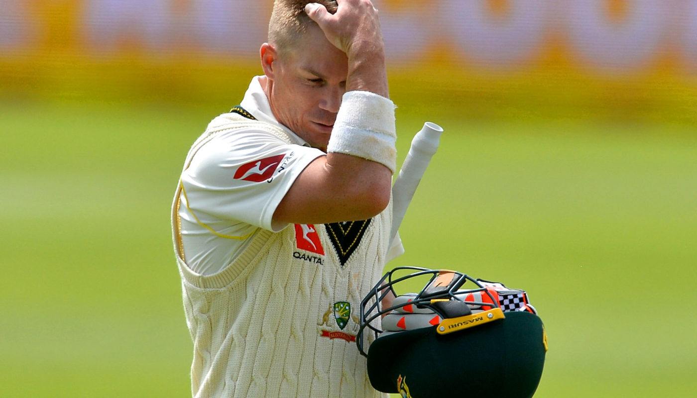 How Dave Warner's scoring patterns have changed while suspended