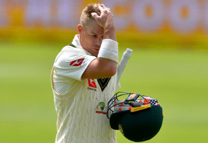 Australia must drop David Warner