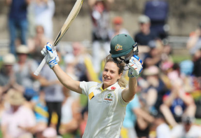 Ellyse Perry talks to The Roar: