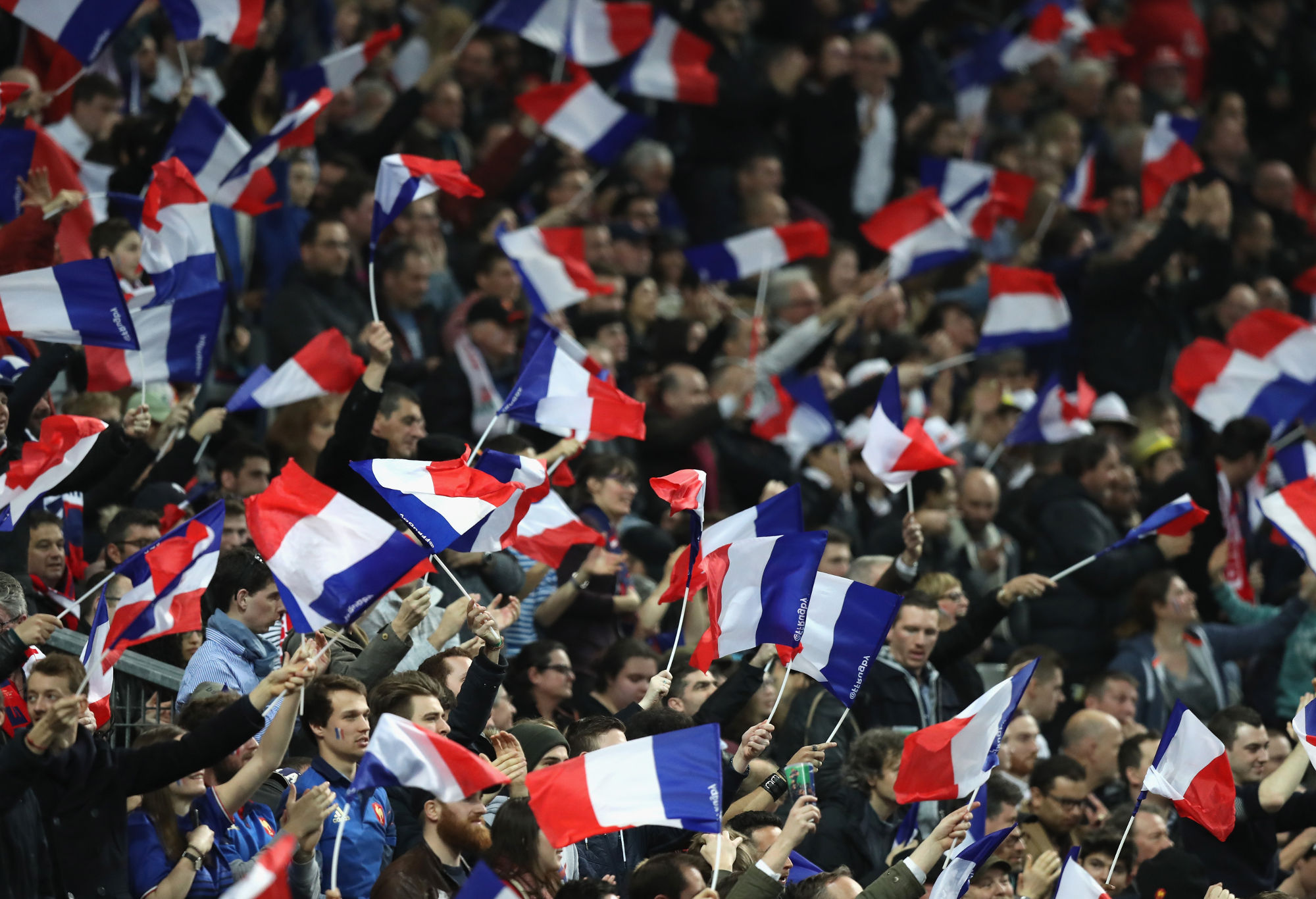 France Rugby Union fans