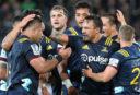 Highlanders beat Crusaders in lively derby