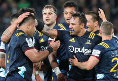 Blues vs Highlanders: Super Rugby live scores