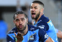 Titans click, Warriors miss big chance