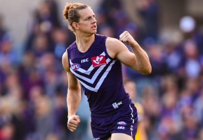 Nat Fyfe and David Mundy are thriving for the suddenly relevant Dockers