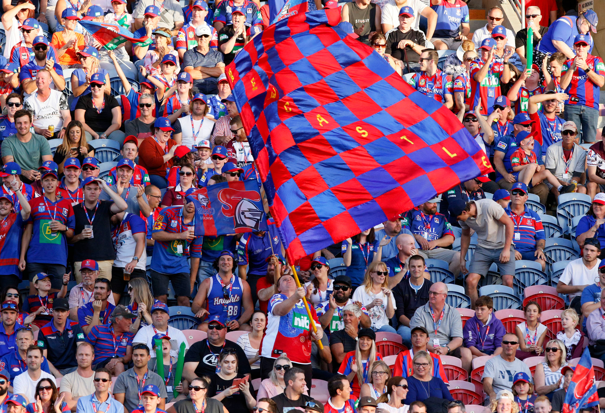 Newcastle Knights fans