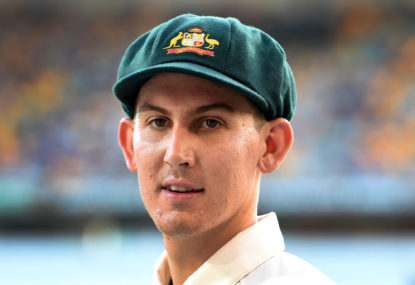 Maddinson is a Test option but not in the top order