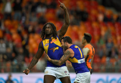 Eagles beat Hawks in AFL thriller as Nic Naitanui returns