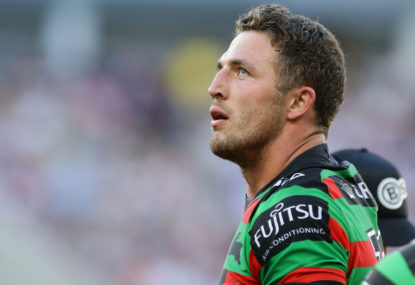 Sam Burgess out indefinitely following complications from shoulder surgery