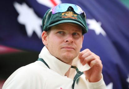 "Smith ""better"" under captaincy pressure"