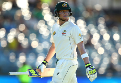The downfall of Australian cricket from the perspective of a heartbroken teenager