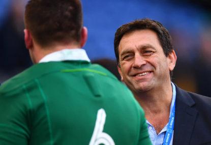 Grand Slam-winning Ireland coming with (hopefully) the next Wallabies coach, David Nucifora