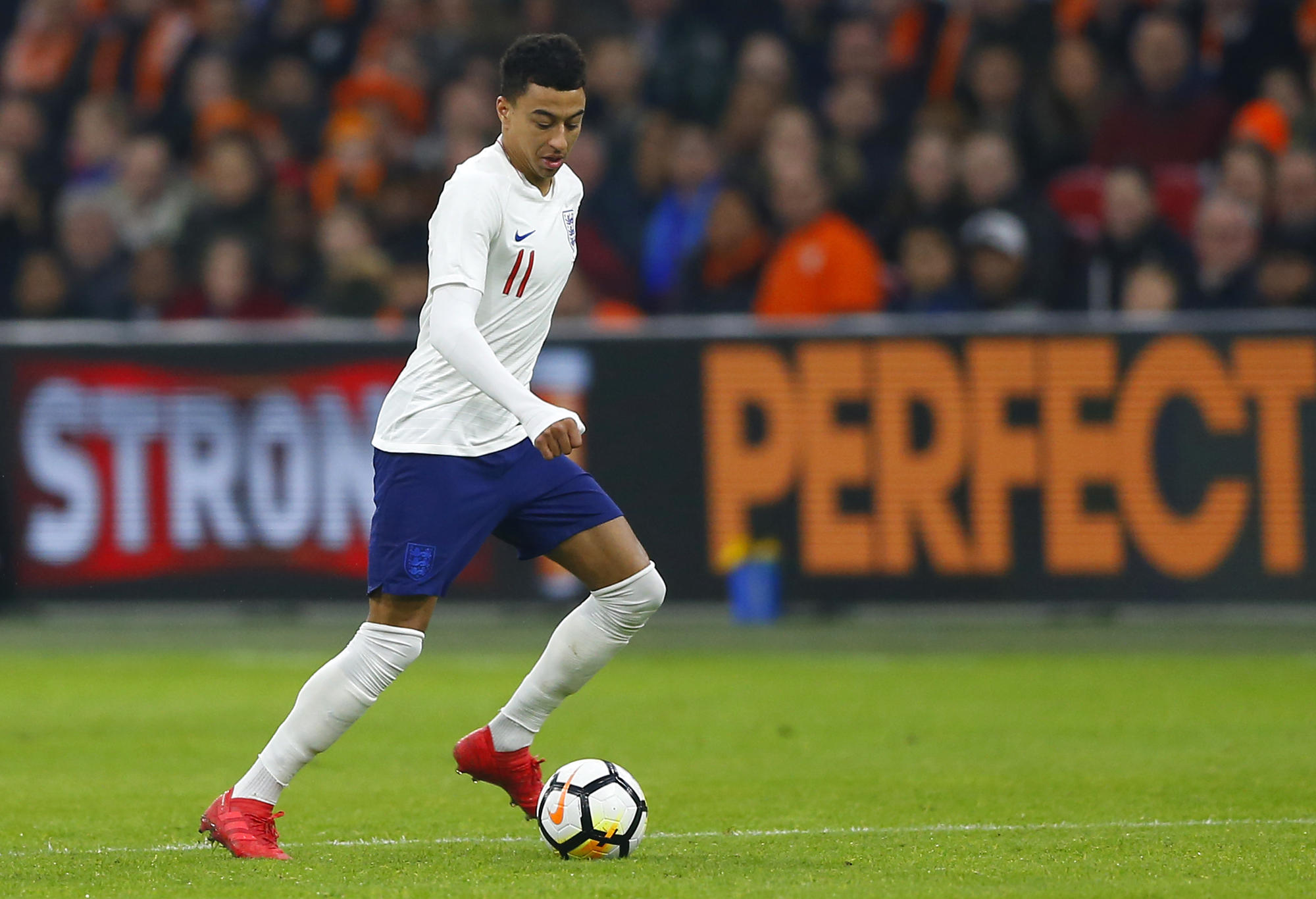 Lingard Looms Large For England